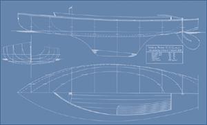 YBOD Linedrawing02 Yare amp Bure One Design ClassYare
